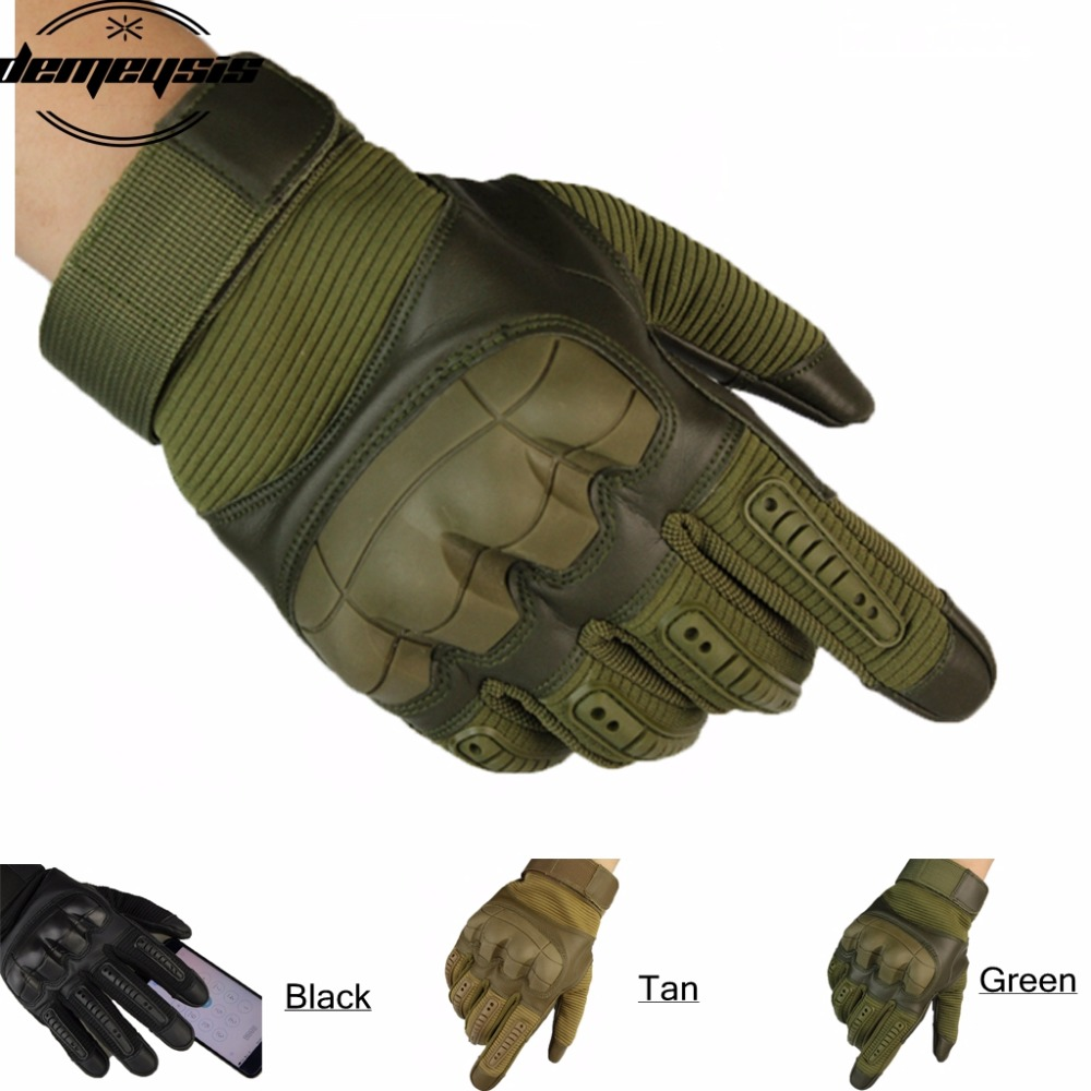 Touch Screen Mountaineering Outdoor Full Half Finger Tactical Gloves Combat Soft Shell Soft Shell Tactical Gloves oumily outdoor tactic half finger gloves khaki size l pair