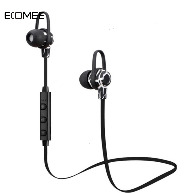 ECOMEE Wireless Stereo Bluetooth Earphone V4.0 Crack Sports Headphone Earbuds Hands Free Headset Universal for Samsung iPhone 8