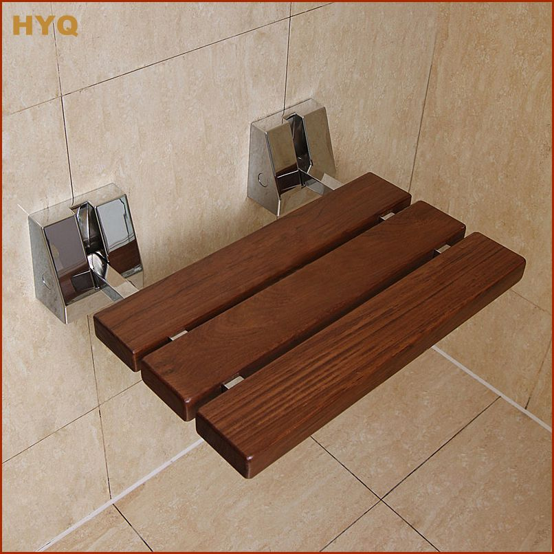 Teakwood+Stainless Steel Shower Seat Wall Seat Wall Chair on ...
