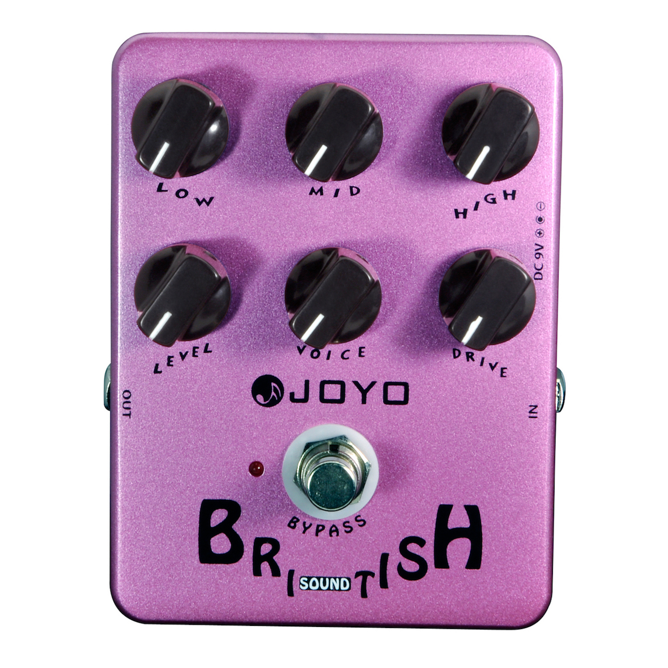JOYO JF-16 British Sound Electric Guitar Effect Pedal True Bypass JF 16 jf