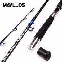 Mavllos ルアー重量 70-250 グラム 3 セクションボートジギング釣竿 1.8 メートル高速アクションカーボン海水釣りスピニングロッド