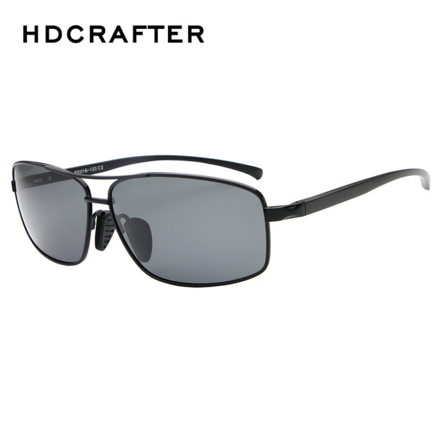 Fashion New Aluminum-magnesium Cool Driving Sunglasses Wholesale Polarized Men's Night Vision Goggles Eyeglasses