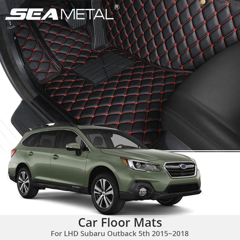 For LHD Subaru Outback 5th Gen 2018 2017 2016 2015 Car Floor Mats Custom Rugs Auto Interior Foot Mat Accessories Car-stylingFor LHD Subaru Outback 5th Gen 2018 2017 2016 2015 Car Floor Mats Custom Rugs Auto Interior Foot Mat Accessories Car-styling