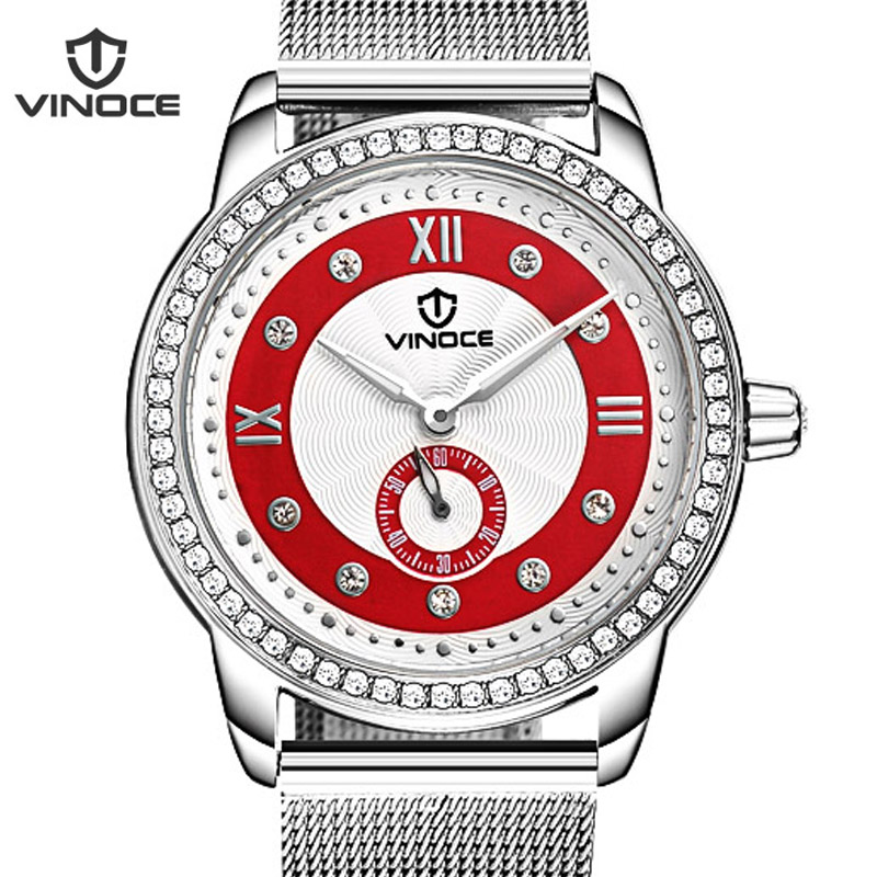 VINOCE 2019 Watches Women Luxury Diamond Luminous Top Brand Relogio Feminino Genuine Leather Strap WomenS Watches #V6332502LVINOCE 2019 Watches Women Luxury Diamond Luminous Top Brand Relogio Feminino Genuine Leather Strap WomenS Watches #V6332502L