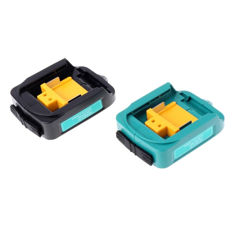 USB Charging Adapter For Makita ADP05 BL1815 BL1830 BL1840 BL1850 1415 14.8-18V