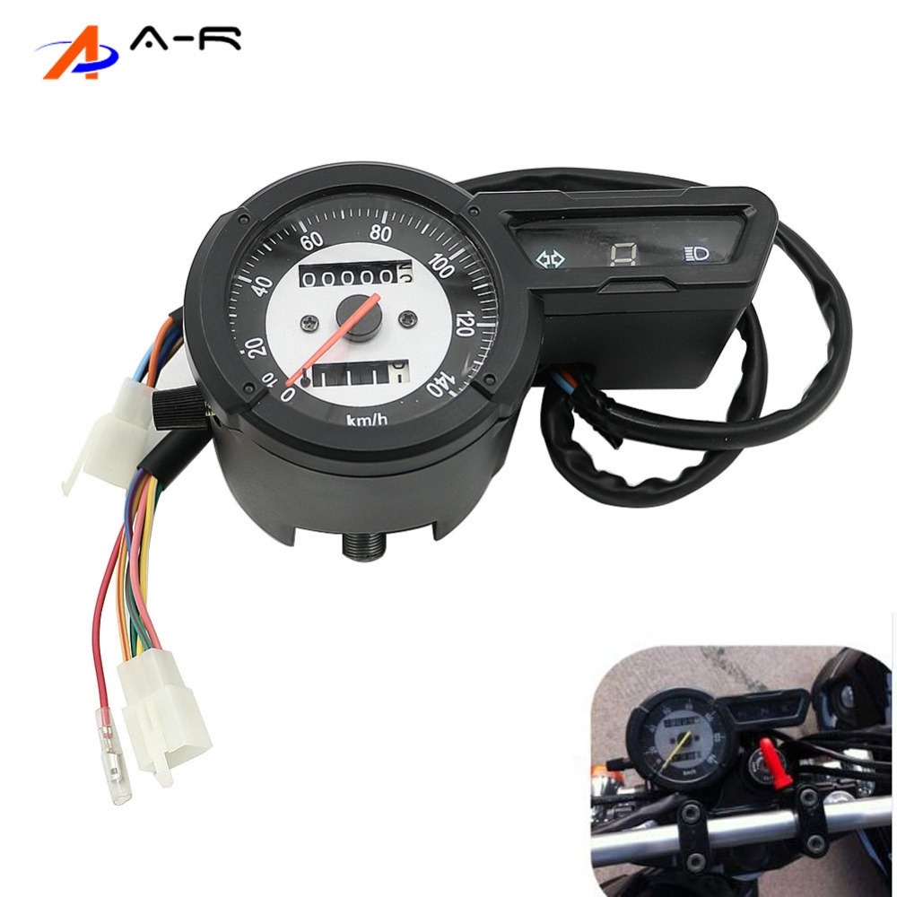 XG250 Digital Speed Meter Speedometer Odometer Gauge Instrument Cover case Tachometer for Yamaha XG 250 Tricker XG-250