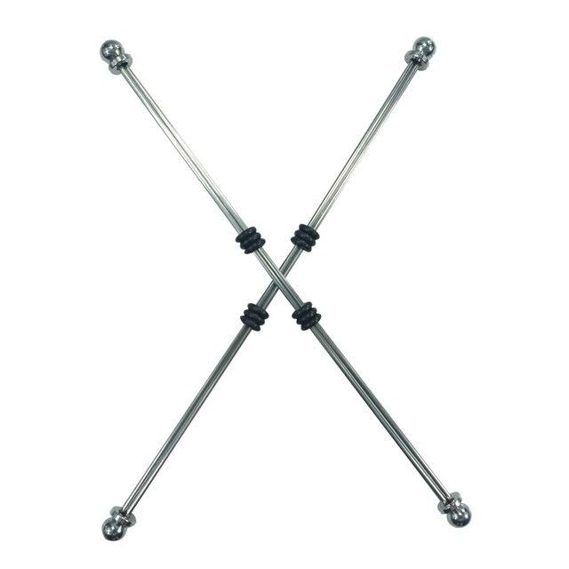 ¡Nuevo! pinzas de sujeción para pezones flexibles ajustables de acero inoxidable, pinzas para pezones, Bondage, Bondage, fetiche, juguete sexual de metal
