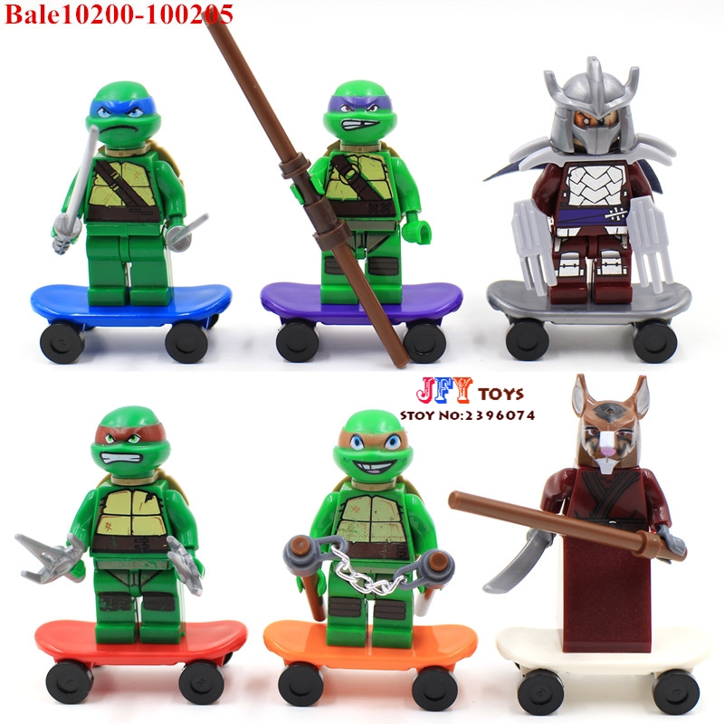 6pcs star wars super heroes marvel avengers Ninja Collection Series building blocks model bricks toys for children juguetes kf949 super heroes star wars mr kentucky macdonald luke skywalker wolverine indiana jones collection building blocks gift toys