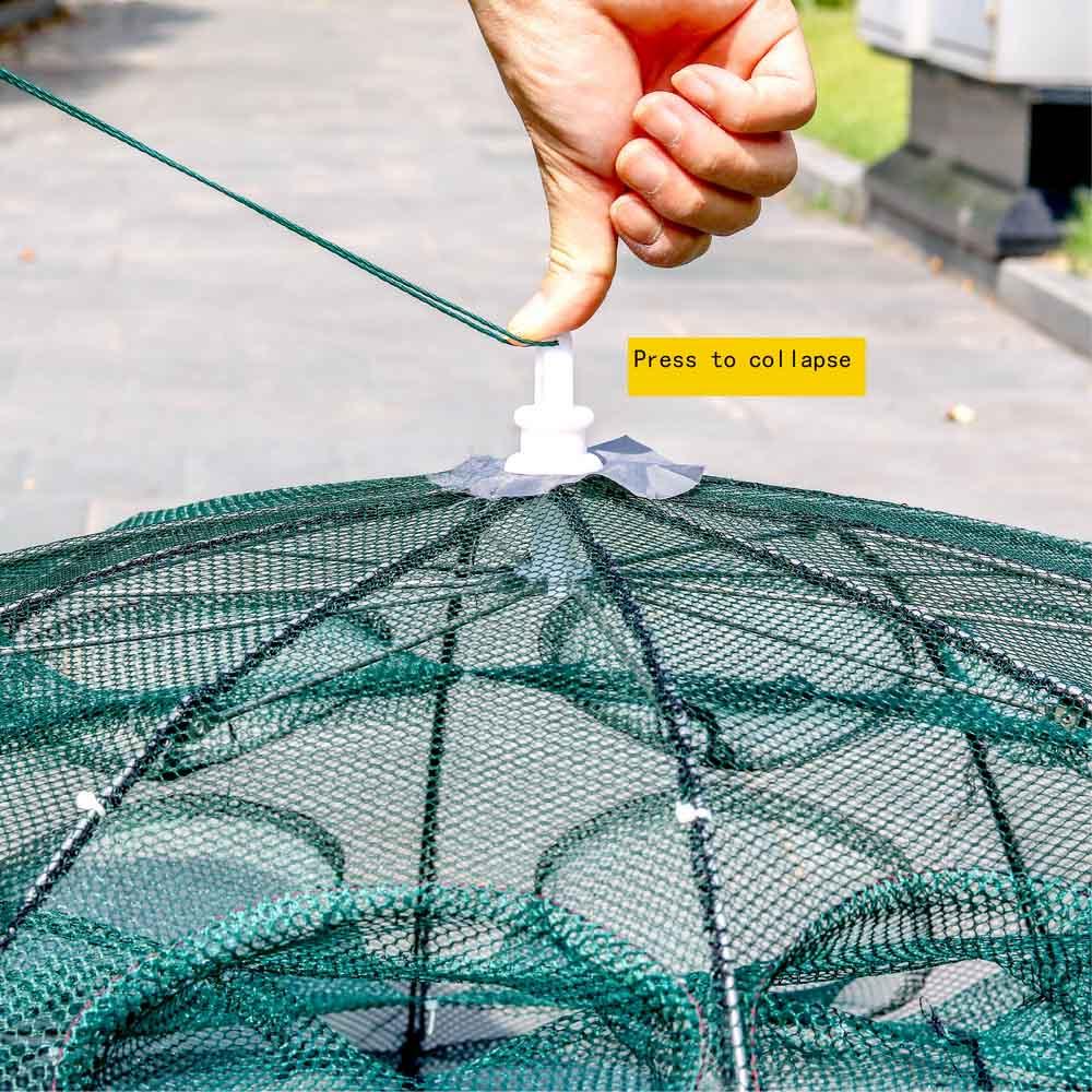Moldado net camarão gaiola automático dobrável rede