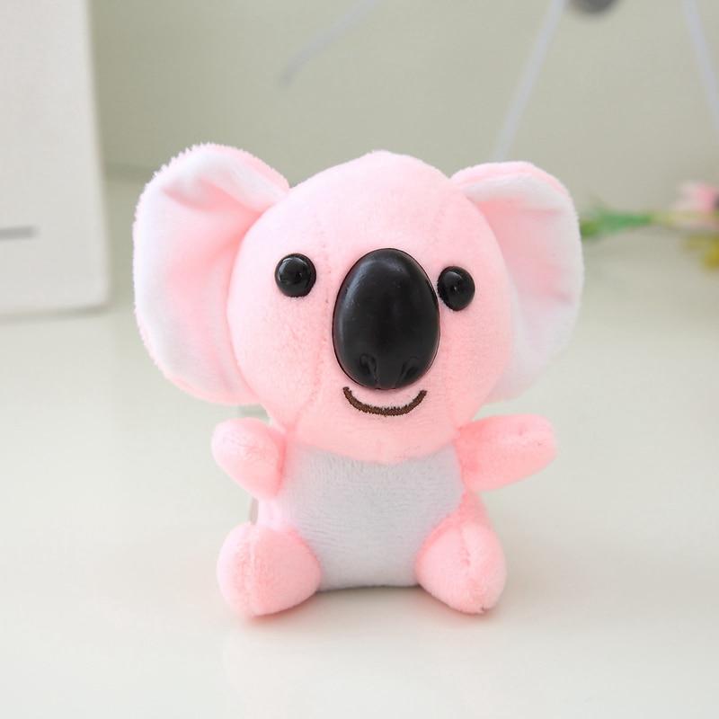 Mini Plush Toys Stuffed Animals Koala Plush Doll Birthday Key Chain Creative