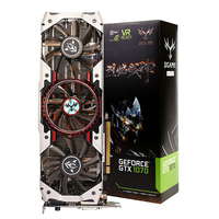 Colorful IGame1070 X 8GD5 Top GeForce GTX 1070 Graphics Card 256bit GDDR5 Computer Hardware W/ Fan HDMI/DVI/DP 1.4 Interfaces