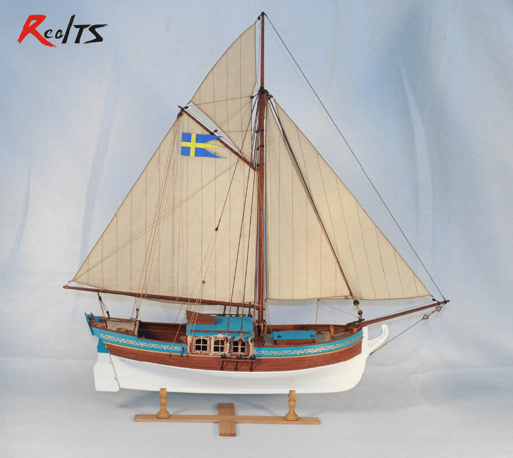 boat model Picture - More Detailed Picture about RealTS The 1770 Swedish royal yacht Yacht sail ...