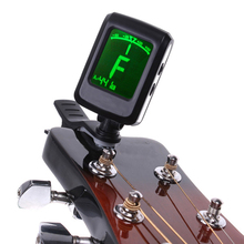 Clip-on Guitar Tuner For Electronic Digital Chromatic Bass Violin Ukulele LCD New