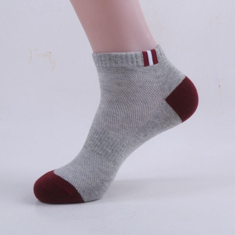 High Quality 5Pairs/lot Brand Men Socks Summer Cotton Socks Bamboo Fiber Meia Masculina Elasticity Elite Sock