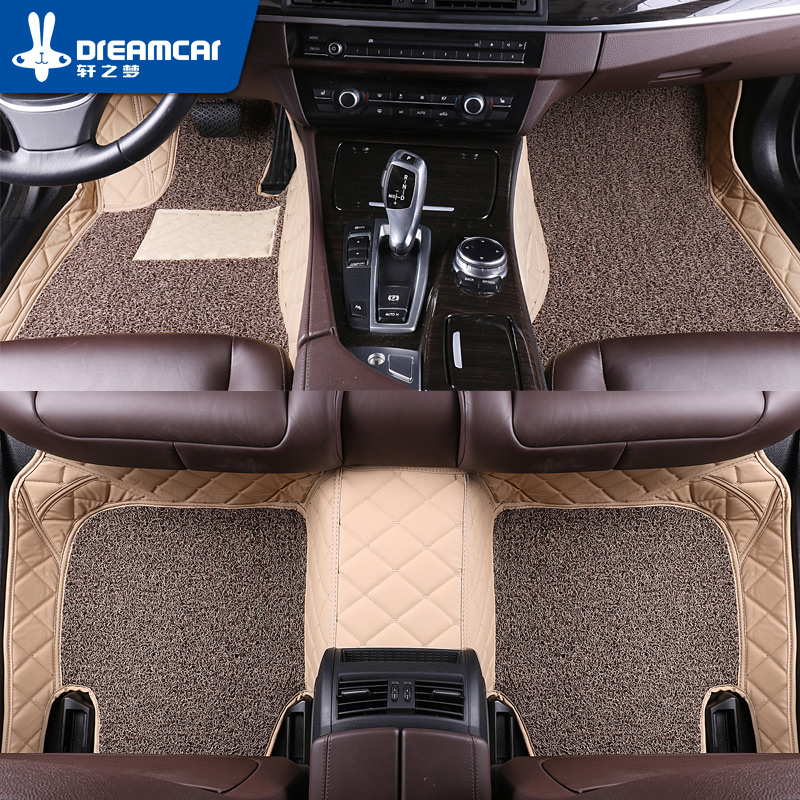 Car Floor Mats For Bmw F10 F11 F15 F16 F20 F25 F30 F34 E60