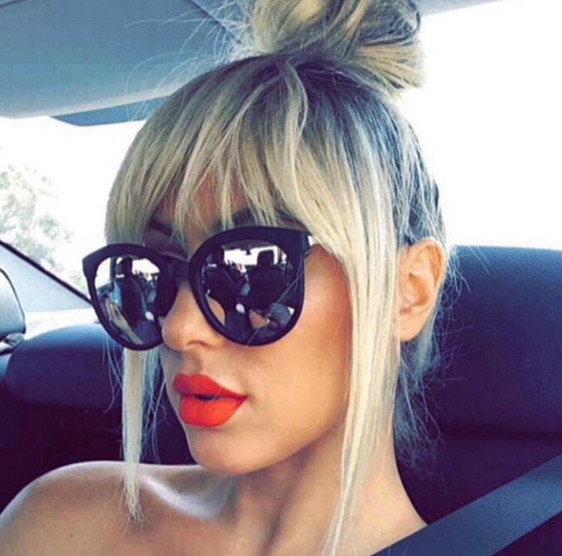 Luxury High Quality Cat Eye Sunglasses Women Brand Designer 2017 Retro Sun Glasses For Women Lady Sunglass Female Mirror Glasses (1)