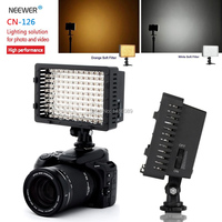 Neewer CN 126 126 LED Video Light on Camera Light for Canon Sony Panasonic Camcorder or DLSR Camerasor Digital Video Camcorder