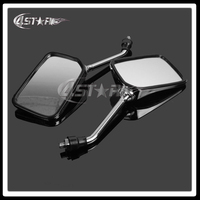 Universal 1 Pair Motorcycle Parts Rearview Side Mirrors For CB400 CB750 CB1000 CB1300 CB 1 VTEC