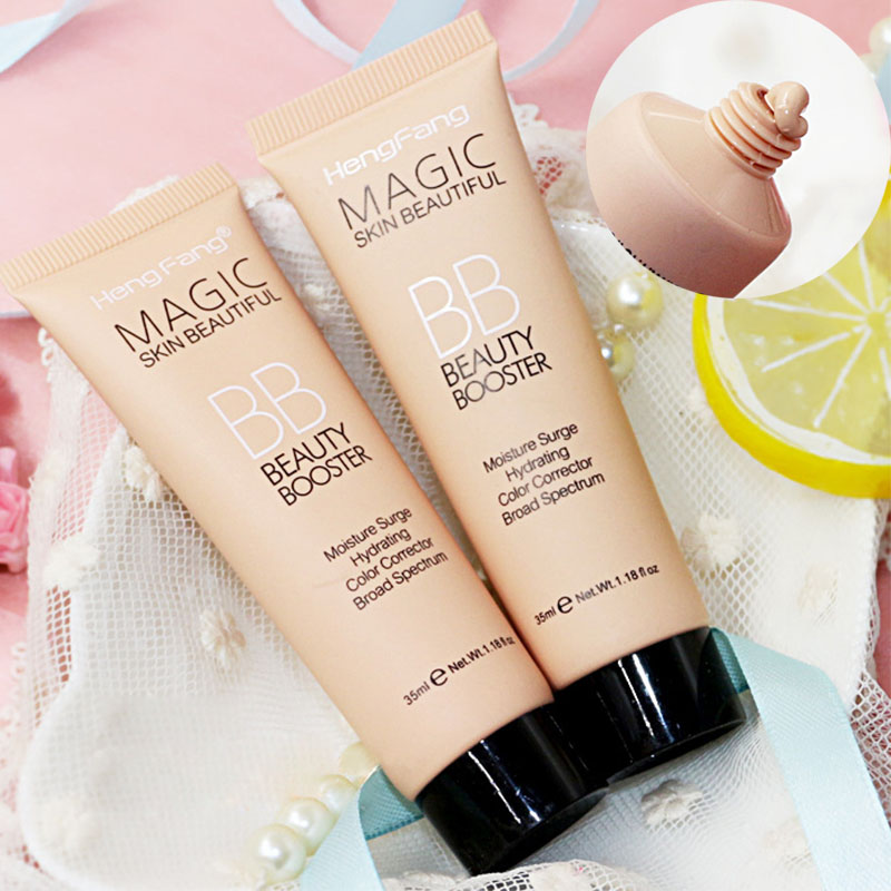 Professional Face Brighten Base Makeup Foundation Long Lasting Sunblock Waterproof Face Whitening Foundation BB Cream Cosmetics