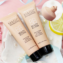Professional Face Brighten Base Makeup Foundation Long Lasting Sunblock Waterproof Whitening BB Cream Cosmetics
