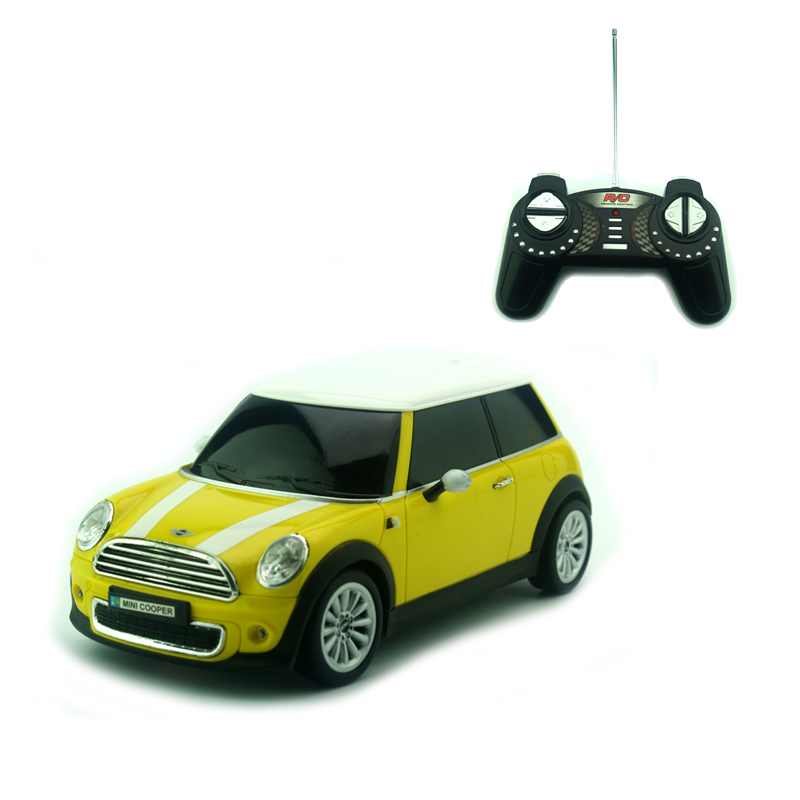licensed 118 rc car model for mini cooper remote control radio control racing car