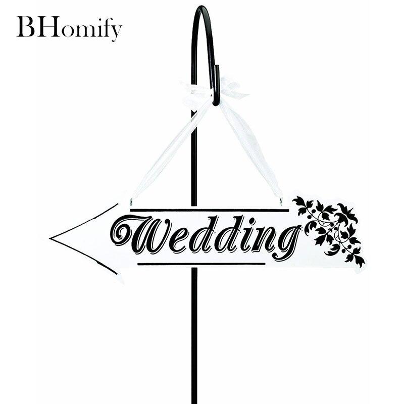 Bhomify свадьбы персонализированные знак деревенский Свадебные признаки персонализированные древесины знак свадебный подарок Приём стрелка...