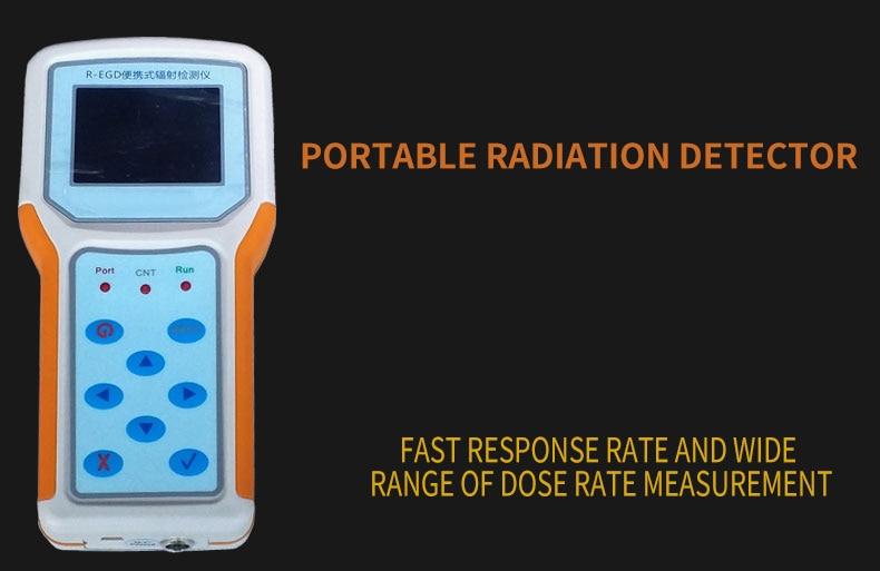 Ray instrumento detector de radiação nuclear detector