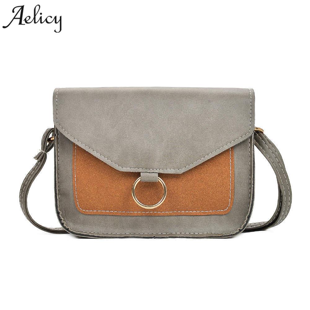Aelicy High Quality Small Ladies Messenger Bags Leather Shoulder Bags Women Crossbody Bag for Girl Brand Women Handbag Bolsa s
