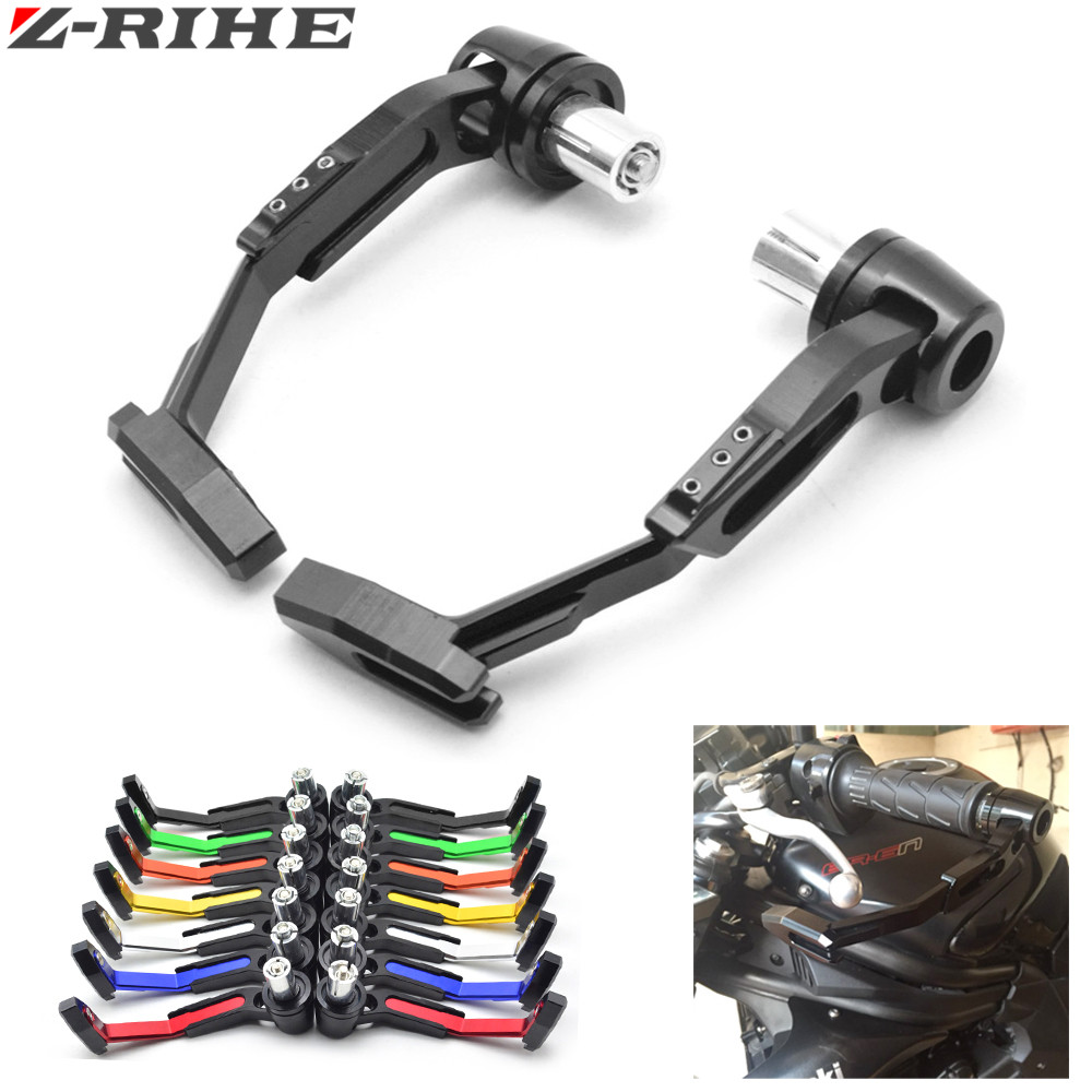 22mm 7/8''mm CNC Handlebar Protector Brake Clutch Protect Lever Guard Proguard For Honda CBR 600 F4i 929 954 RR F1 F2 Hurricane universal 7 8 22mm cnc handlebar protector lever brake clutch protect motorcycle guard proguard for ktm honda 990 2008 013