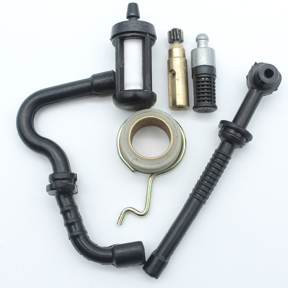 Chainsaw Parts Oil Pump Worm Gear Fuel Hose Filter Kit For Stihl MS180 MS170 018