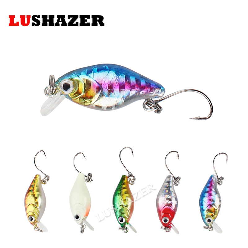 LUSHAZER Fishing minnow crankbait 2g 3cm isca artificial hard lure fishing wobblers cheap single hook peche carp fishing tackles amlucas minnow fishing lure 110mm 9 5g crankbait wobblers artificial hard baits pesca carp fishing tackle peche we266