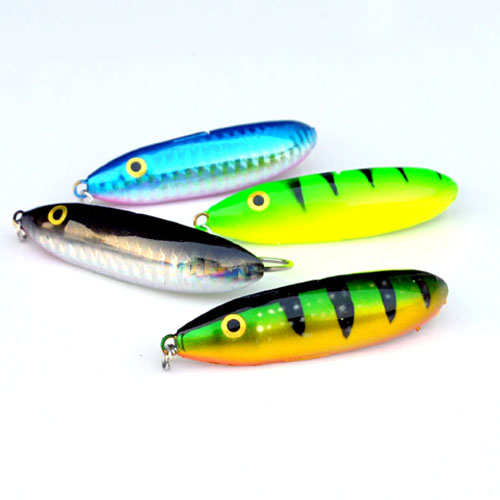 WLDSLURE 4pcs/lot 9.5g Spoon Minnow Saltwater Anti-hitch Crankbait Hard Plastic Plainting Fishing Lures Bait  Jig Wobbler Lure wldslure 4pcs lot 9 5g spoon minnow saltwater anti hitch crankbait hard plastic plainting fishing lures bait jig wobbler lure