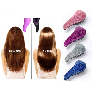 Newly Magic Mini Handle Comb Anti-static Hair Brush Tangle Detangle Shower Massage Hairbrush Comb Salon Hair Beauty Styling Tool(China)