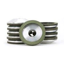 цена на 20pcs 2 inch 4A2 resin bond diamond grinding wheel for tungsten carbide CBN wheel for high speed steel cast iron sharpening R021