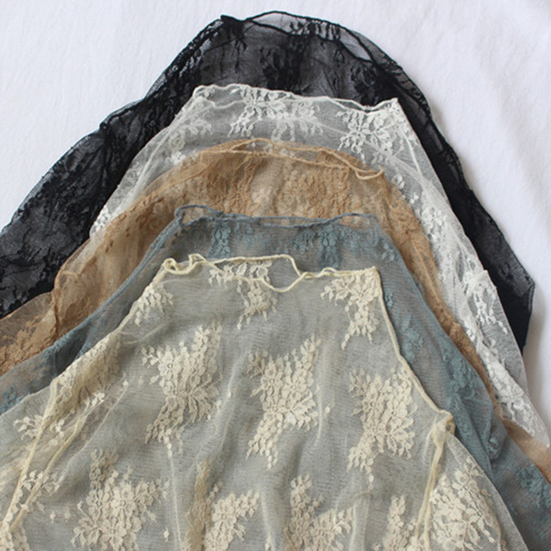 Sexy Blusa Khaki Primavera Encaje Blusas Malla Verano Moda 2019 black dark Camisa Beige Floral Mcckle Ganchillo Las Tops Transparente gray Y Mujeres De white qTx6w0B