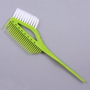Image 4 - Pro Black Plastic Haarverf Kleuren Borstels Kam Barber Salon Tint Hairdressing Styling Tools Haar Kleur Diy Kammen Met Borstel