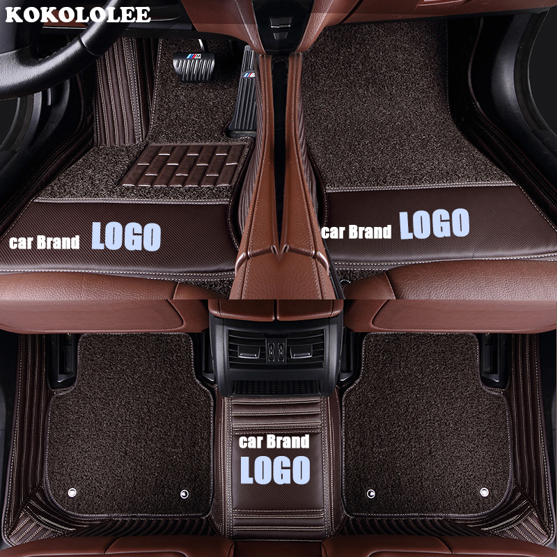 Tapis de sol kokololee pour mercedes-benz LOGO Mercedes E C GLA GLE GL CLA ML GLK CLS S R A B CLK SLK G GLS GLC vito viano