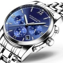 Watch Men Fashion Sport Clock Stainless Steel Top Brand Luxury Waterproof Quartz Wristwatches Casual Military Watch