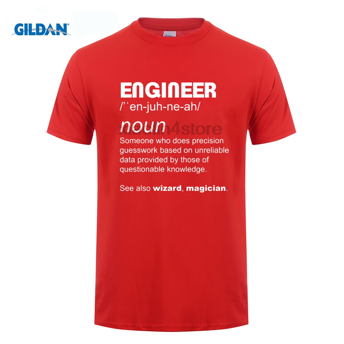 GILDAN DIY style mens t shirts Masculine Streetwear Funny Engineer Work Gift Electrical Gas Mechanic Civil Fathers Day T shirt