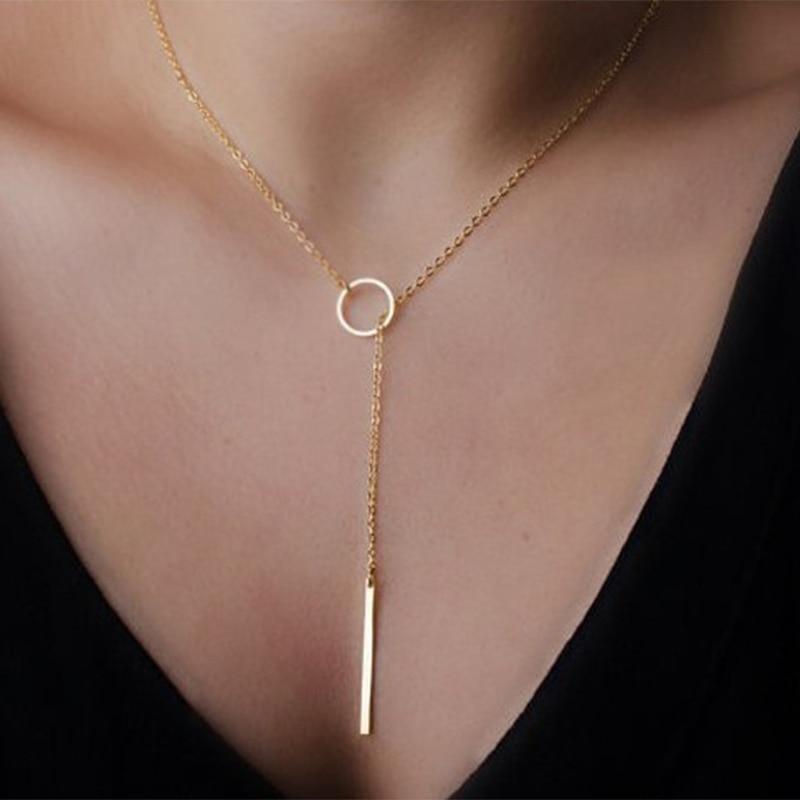 10 pcs/lote femme bijoux collier chaîne de cou mariage Party étape ornement de cou col de la chaîne jn201