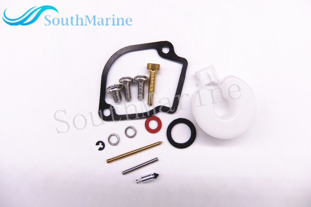 Boat Motor Carburetor Repair Kit For Yamaha 2HP 2MS Outboard Motor 6A1-W0093-01-00 6A1-W0093-00 6A1-W0093-02 6A1-W0093-03