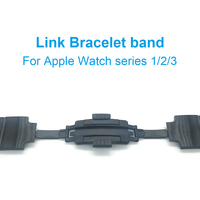 For Apple Watch Link Bracelet Band Strap For IWatch Series 3 2 1 42mm 38mm High