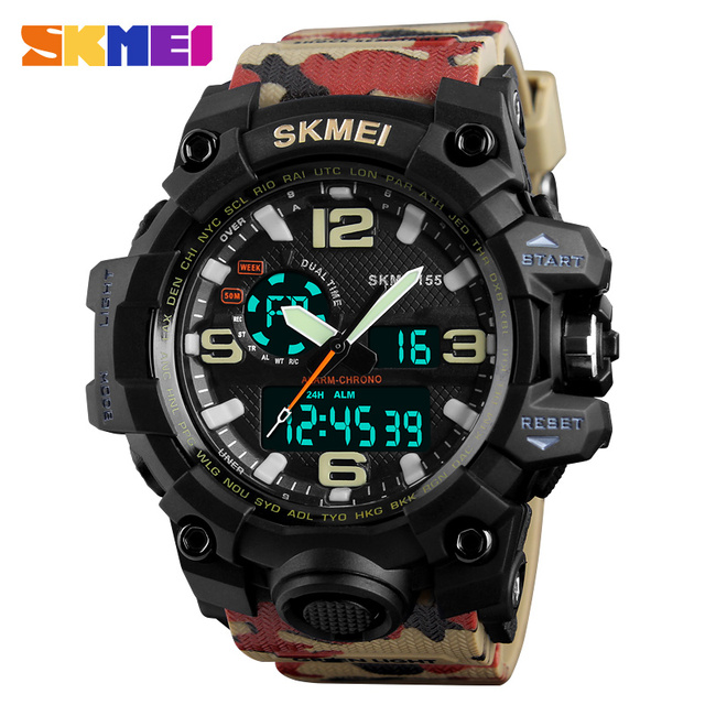 Camouflage Watches Army Military Watch Men Sport Mens Watches Top Brand Luxury C