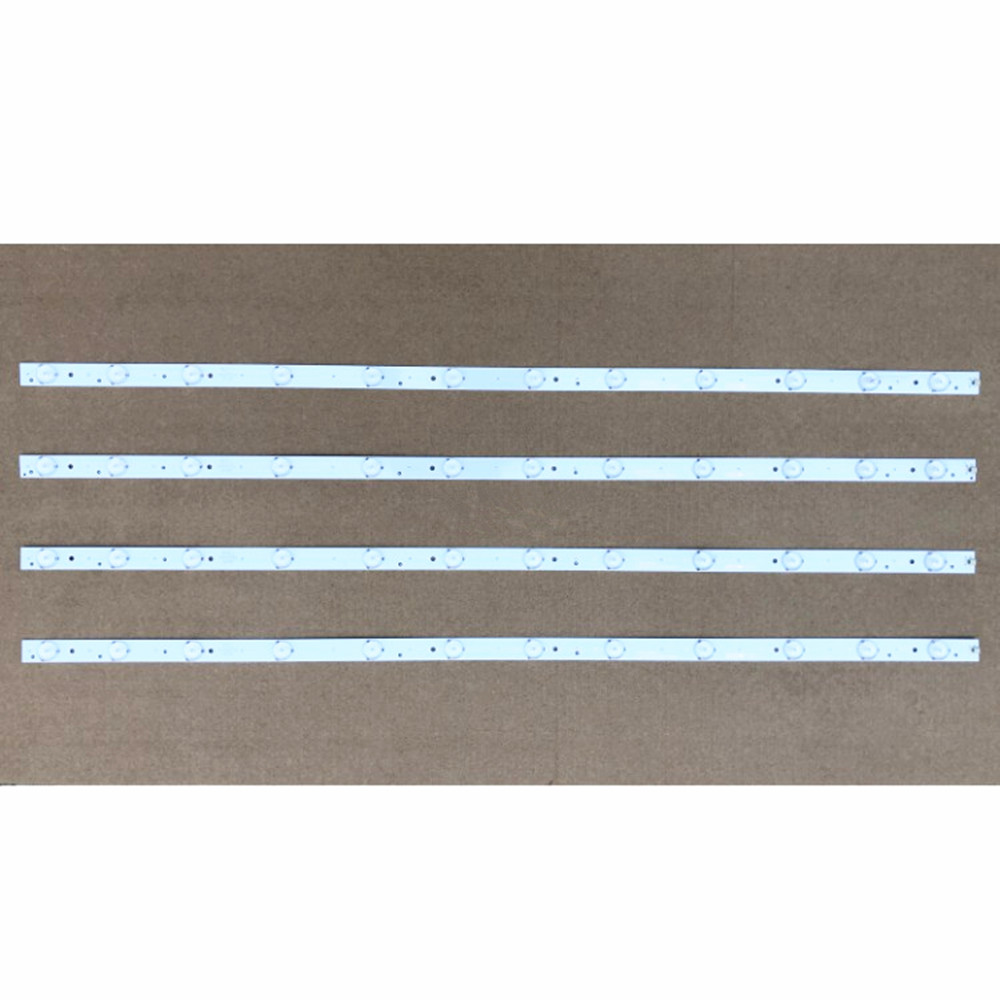 1set=4piece <font><b>LED</b></font> Backlight Bar for Ha ir 40inch LE40B3000W 30340012203 LED40D12 ZC1404 1pcs=12led <font><b>80CM</b></font> image
