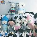 Triver ГОРЯЧАЯ Lucky Boy Воскресенье Куклы Ручной Вязки Игрушки Кукла Крючком Мягкие Дании Игрушки для Детей Игрушки для Детей На День Рождения