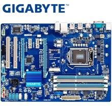 GIGABYTE GA-Z77P-D3 рабочего Материнская плата Z77 разъем LGA 1155 i3 i5 i7 DDR3 32G блок питания ATX UEFI BIOS оригинальный Z77P-D3 б/у