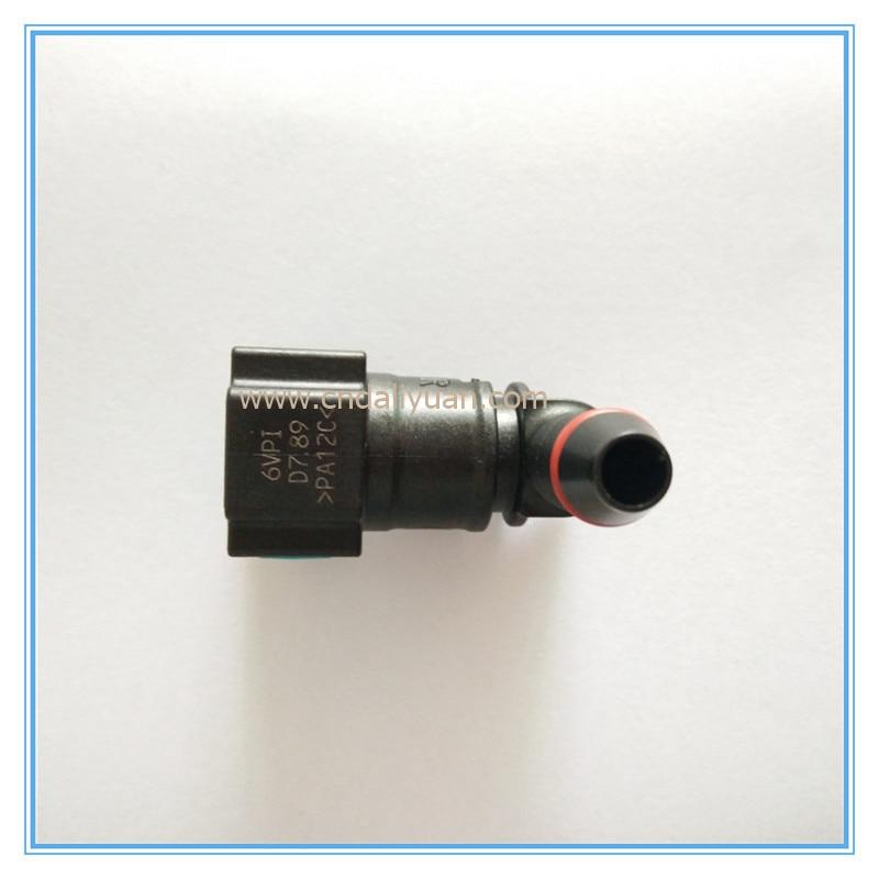 7.89mm-ID6-90degree SAE 5/16 Yanacaq borusu armaturları avtomatik - Avtomobil daxili aksesuarları - Fotoqrafiya 6