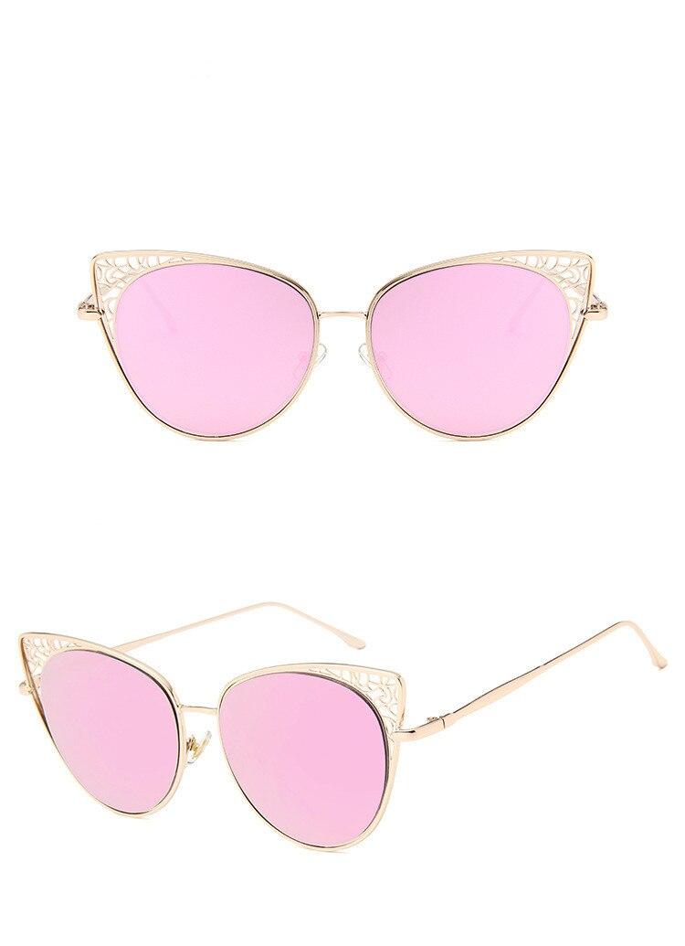 Marca gafas de sol de alta calidad de Metal bisagra gafas mujeres gafas de sol UV400 2601-2624 B1001 lente Unisex Original