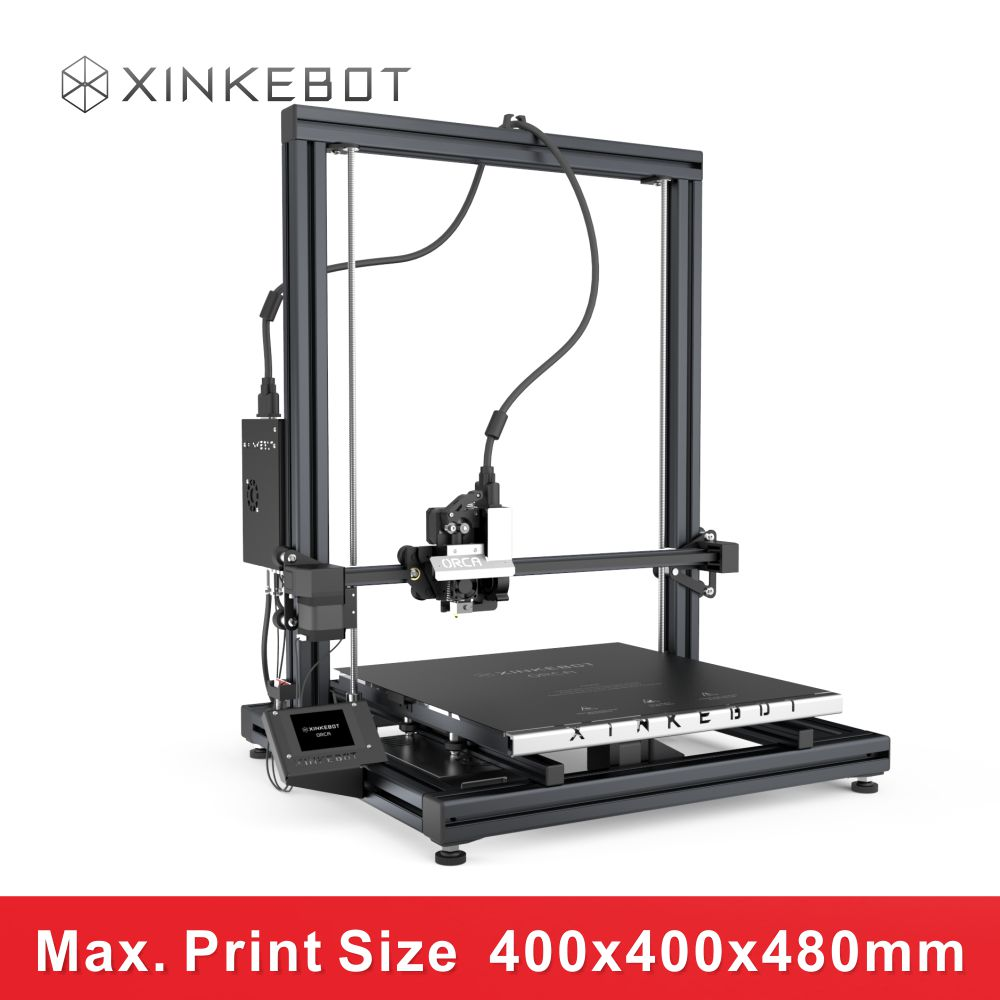 XINKEBOT 2016 New Fashion Design Large Desktop Office Teaching 3D Printer ORCA2 Cygnus 1 Spool of