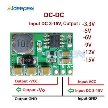 3-15V כדי שלילי-3.3 V-5 V-6 V-9 V-12 v-15 V באק-boost ממיר שלילי מתח מודול עבור ADC DAC LCD אספקת חשמל